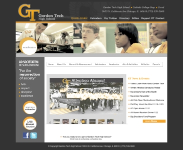 Website Design - Recent Work:
