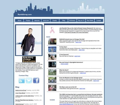 Website Design - Recent Work: