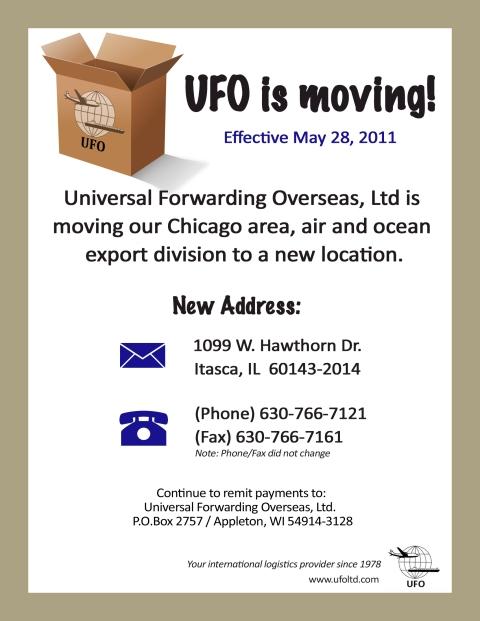 UFO Mailer